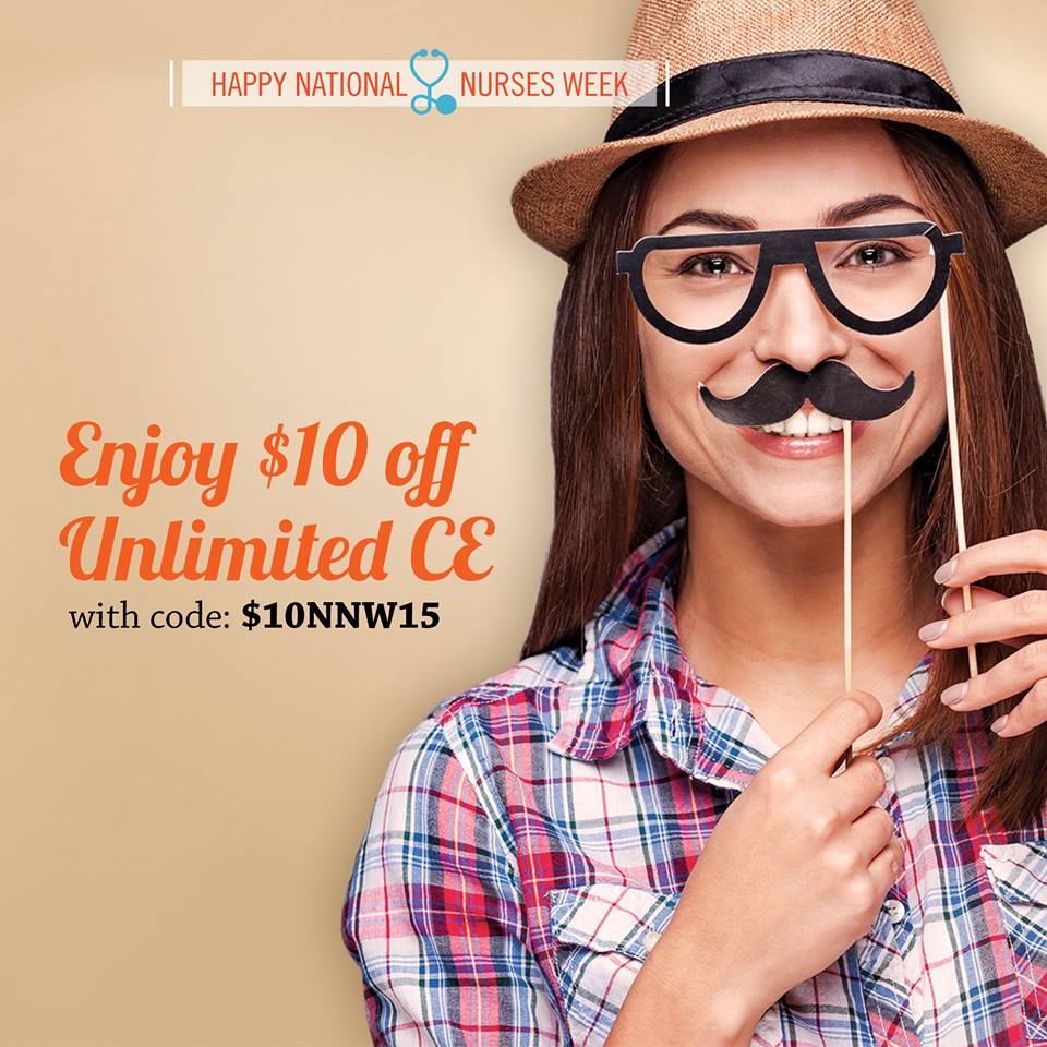 $10 off Unlimited CE